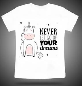 Bilde av Unicorn follow your dreams t-shirt