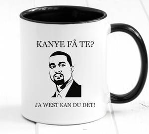 Bilde av Kanye få te kopp