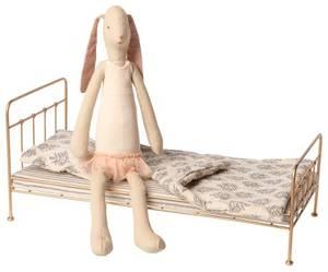 Bilde av Maileg ballerina med gull seng