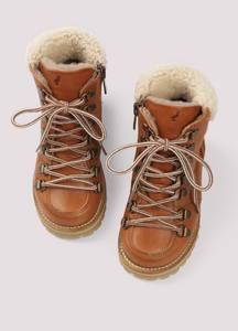 Bilde av Kids shearling winter boot (cognac)