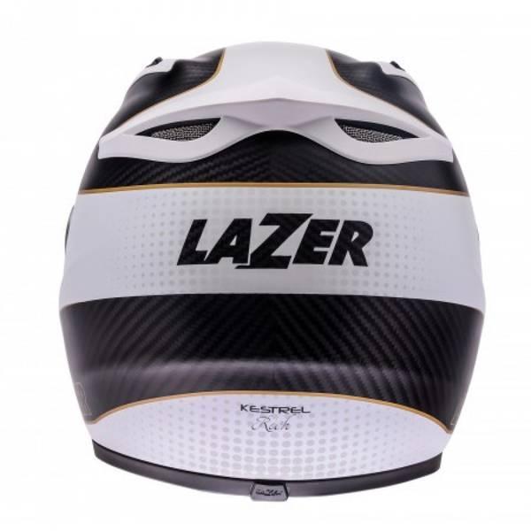 Lazer Kestrel CL Signature Hvit
