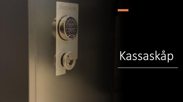 Franz Jäger Kassaskåp
