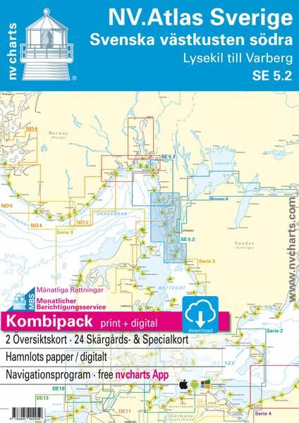 Bilde av NV Atlas SE 5.2 Svenskekysten sør