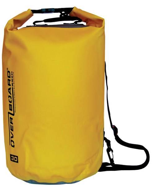 Bilde av OverBoard 30 L sylinderbag, gul