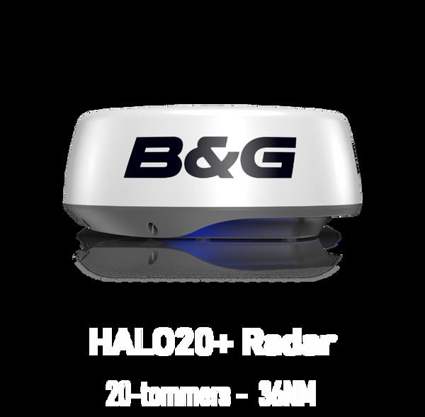 Bilde av B&G HALO20 radar