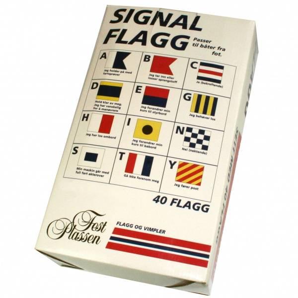 Bilde av Signalflagg 42 x 30cm