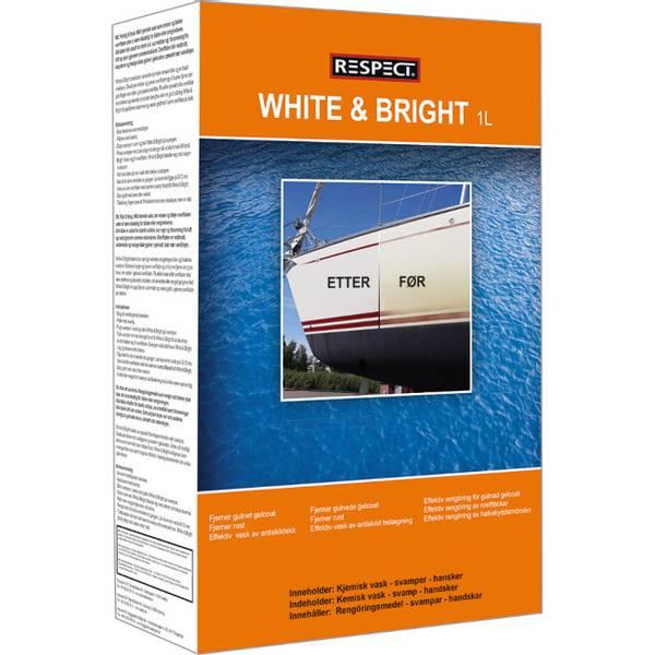 Bilde av Respect White and Bright