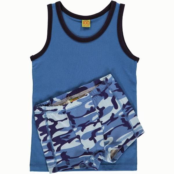 Celavi, undertøyssett vallarte blue