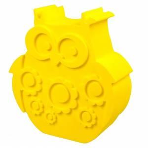 Bilde av Blafre, matboks gul ugle