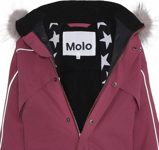 Molo, Polaris recycle fur maroon vinterdress
