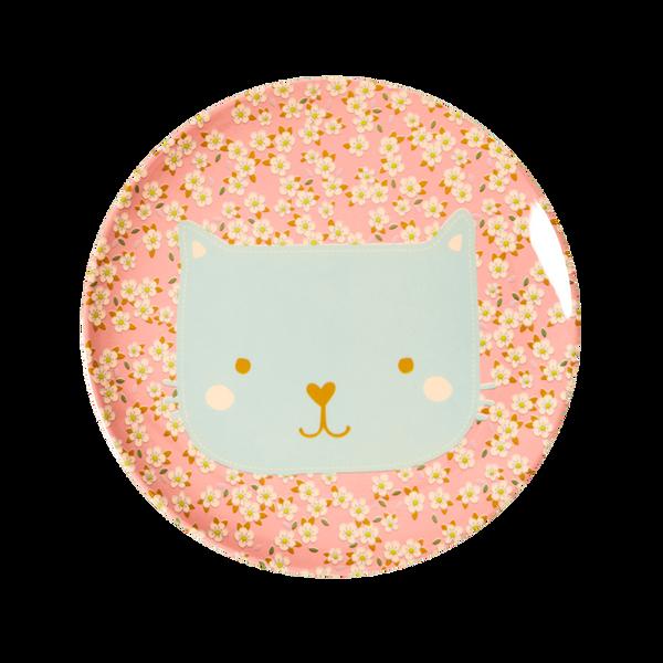 Rice, barnetallerken animalprint