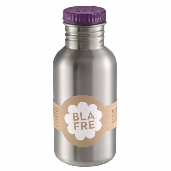 Blafre, stålflaske lilla , 500 ml