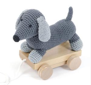 Bilde av Smallstuff, pull-along dog