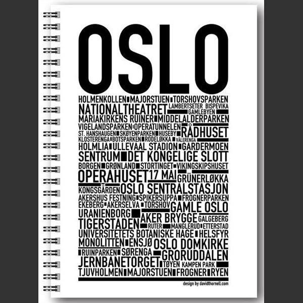 Wallstars , notatbok OSLO