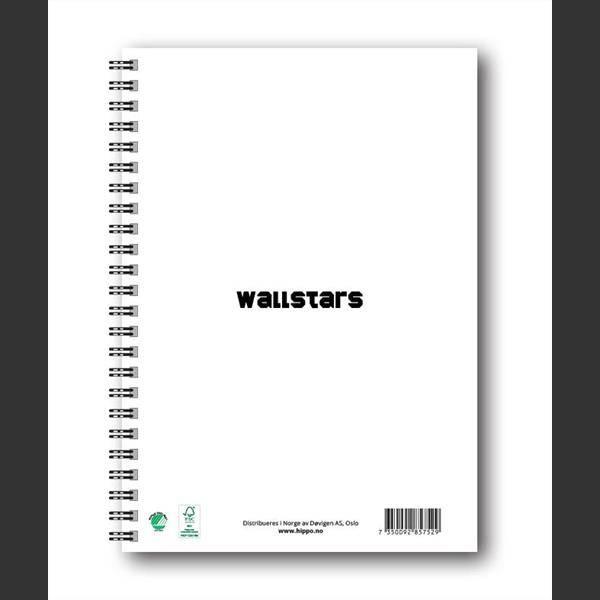 Wallstars , notatbok MAMMA
