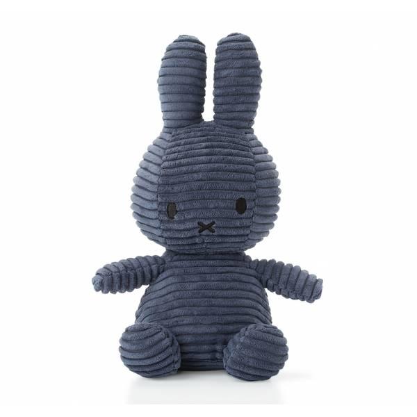Miffy -  mørk blå kanin, 24 cm