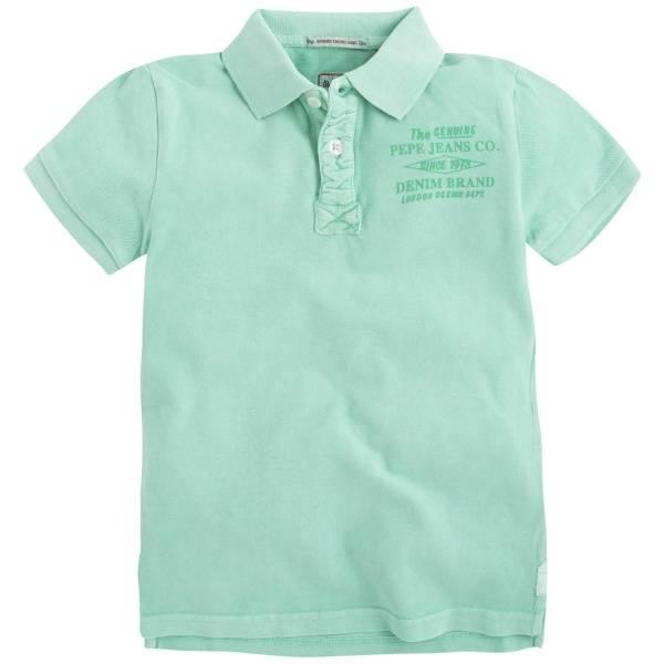 Pepe jeans, Marshall piké-skjorte mojito