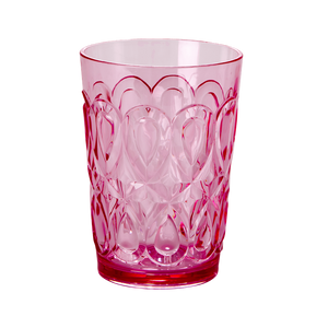 Bilde av Rice, glass rosa acryl