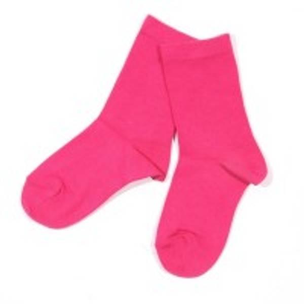 Melton, rosa sokker