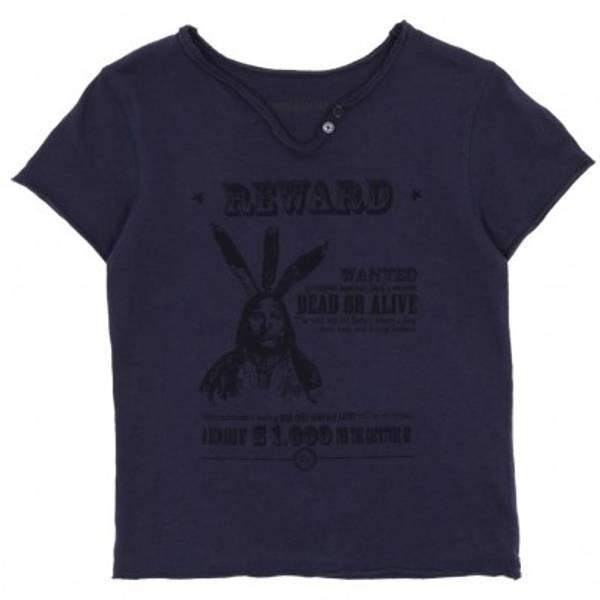 Zadig &Voltaire, T-skjorte Boxer Indigo