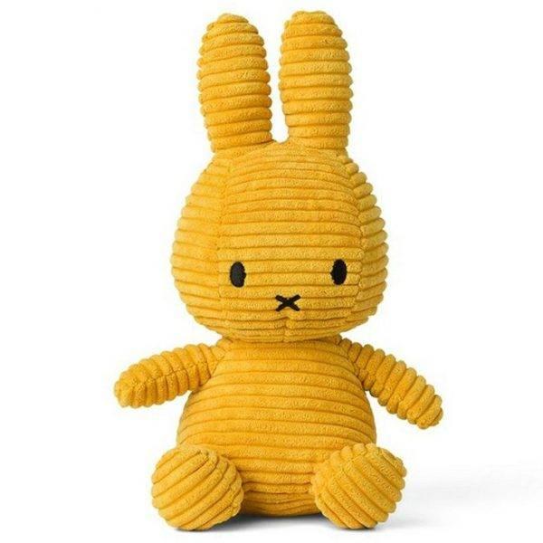 Miffy -  gul kanin, 24 cm