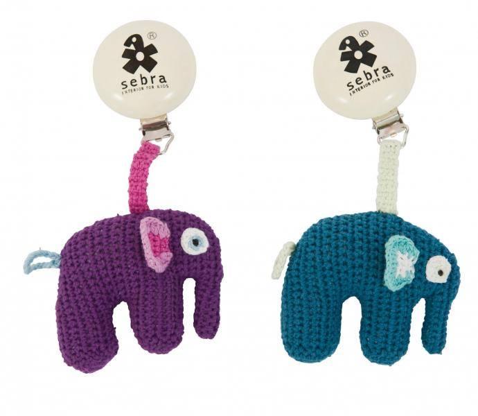 Sebra, barnevognsleke elefant 3920/3921