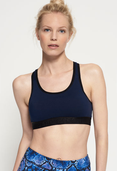 Superdry, Core gym sports-bh rich navy
