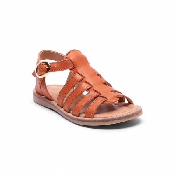 Bisgaard, cognac sandaler 71924