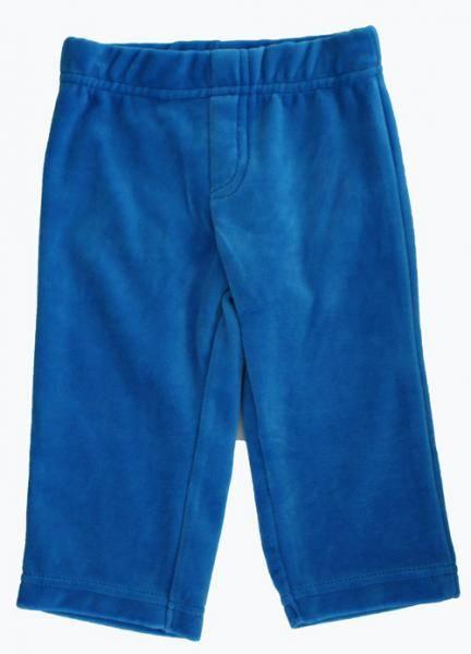 Max bright blue velur bukse fra Lily Balou