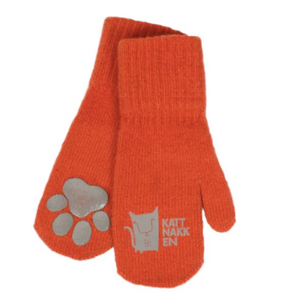 Kattnakken , Magiske ullvotter orange love