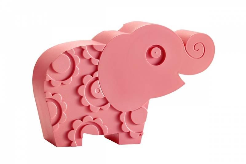 Blafre, matboks rosa elefant