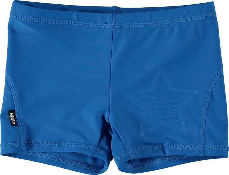 Molo, Norton solid indigo blue badebukse