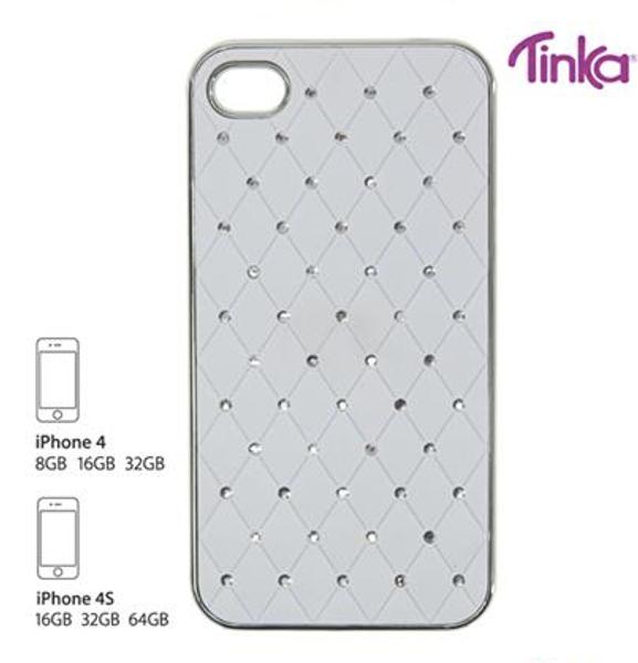 Sam & Sofie , Tinka Iphone cover for Iphone 4/4S , hvit med