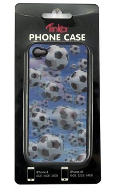 Sam & Sofie , Tinka Iphone cover for Iphone 4/4S , 3 D fotball s