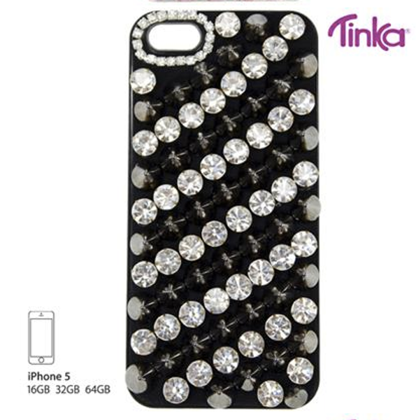 Sam & Sofie , Tinka Iphone cover for Iphone 5 , crystal/spikes