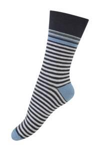 Bilde av Melton sokker, svarte striper