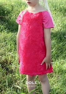 Bilde av Dolly, Rosy dress fuchsia