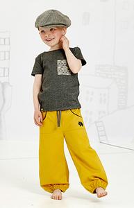 Bilde av Albababy, Gillan gul bukse