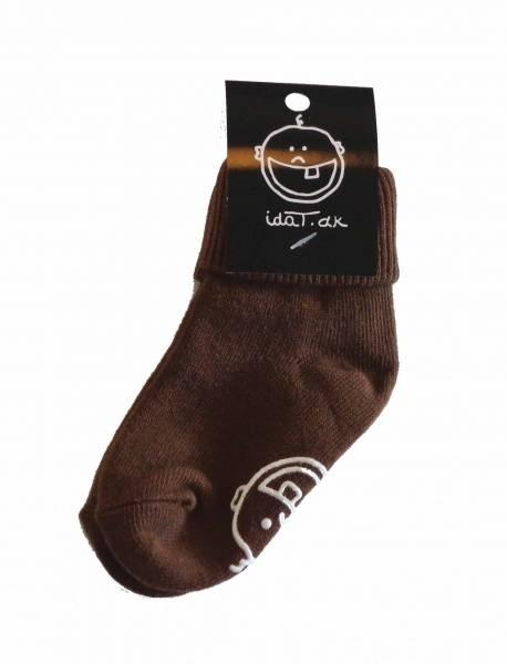 IdaT , brune sokker UTEN logo under