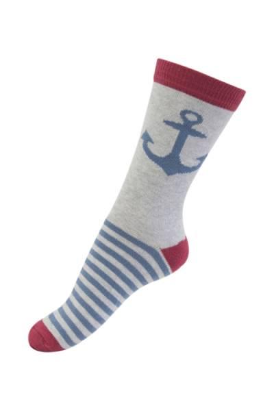 Melton sokker,  anker