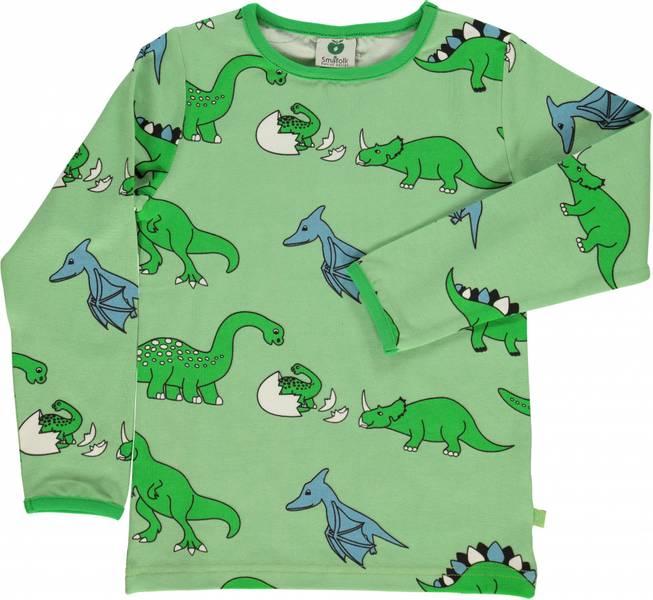 Småfolk, grønn genser med dino
