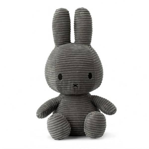 Miffy -  grå kanin, 33 cm