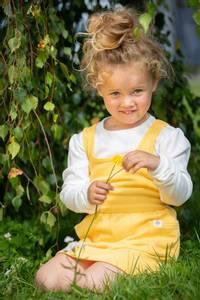 Bilde av Gullkorn, Ella kjole banan-is