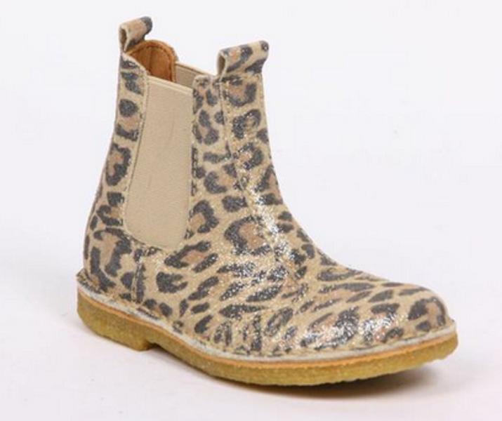 Bisgaard leopard skoletter 50203