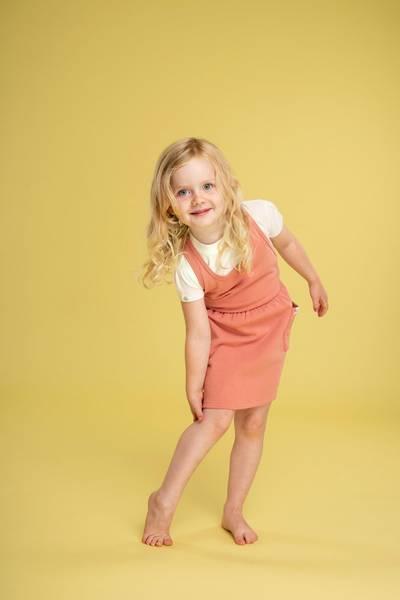 Gullkorn, Ella kjole teracotta