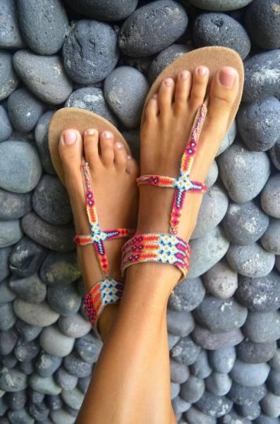 Hot lava, sandaler Buli inka