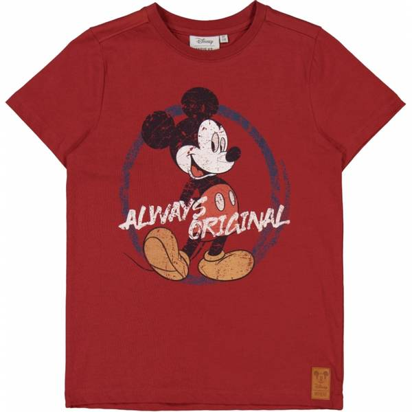 Wheat, tskjorte Mickey original warm brick