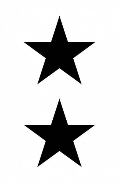 BoldeStatements tatovering, Big Stars