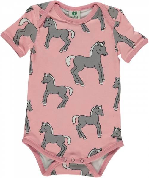 Småfolk,  silver pink body med ponnier