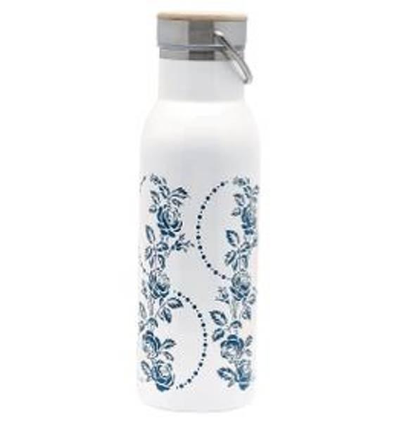 GreenGate, termosflaske Fleur blue
